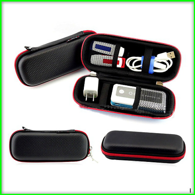 GUANHE Waterproof Electronic Accessories Bag Cables.USBFlash.Drive Storage Pouch