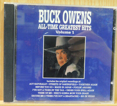 Buck Owens All Time Greatest Hits Vol 1 CD 1990 Curb Records Folk Country
