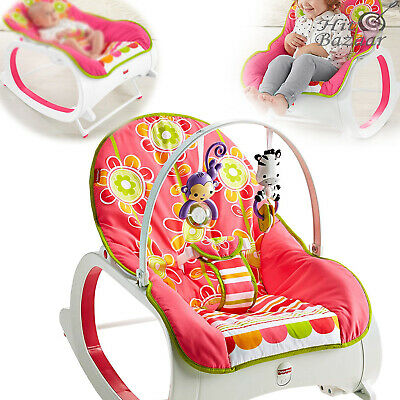 BABY ROCKER INFANT TO Toddler Rocking Newborn Crib Swing Seat Chair Bouncer Slee