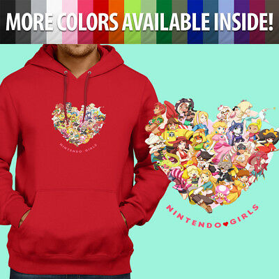 Nintendo Girls Zelda Princess Peach Samus Fun Pullover Sweatshirt Hoodie Sweater