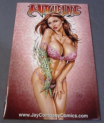 WITCHBLADE #81 (San Diego SDCC Jay Company Red Bra LTE 250) Image Top Cow 2004