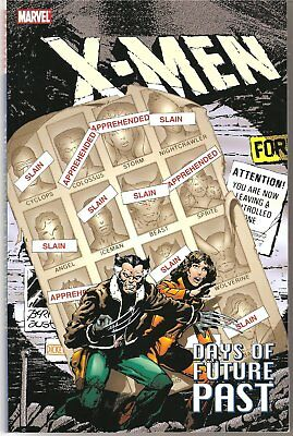 X-Men Days of Future Past tpb - Claremont&Byrne Marvel - Great Condition!