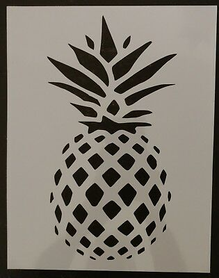 "Pineapple Custom Stencil 8.5"" x 11"" Sheet - FAST FREE SHIPPING"
