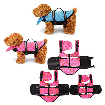 Pet Dog Life Preserver Jacket Swim Surf Safety Flotation Vest All Sizes Vest