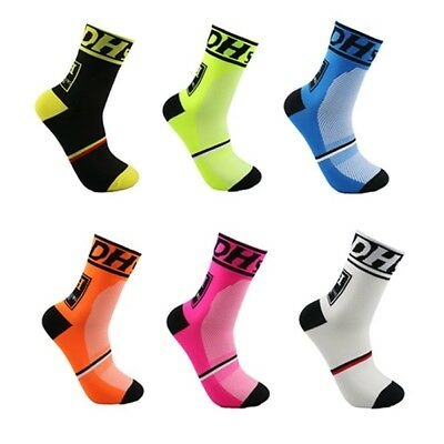 MTB Road Bicycle Sports Protect feet Breathable Wicking Cycling Gym Bike Socks
