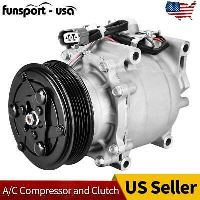 A/C Compressor and Cluth For 2002-2005 2003 2004 Honda Civic 38810P5M016