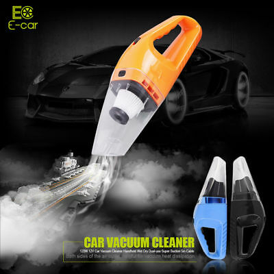 Portable Car Vacuum Cleaner 12V Vehicle  Lightweight Auto Handheld High Power UK