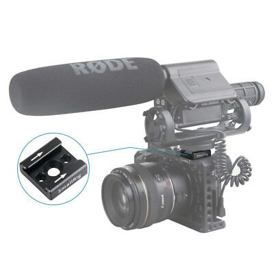 "SmallRig Cold Shoe Mount Adapter Bracket  with 1/4"" Thread for Flash LED Moniter"