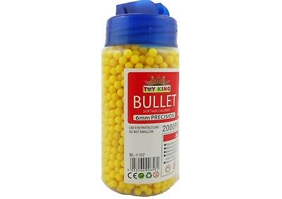 2000 0.12g High Grade BB Pistol Pellets Bullets 6mm Airsoft Bullet