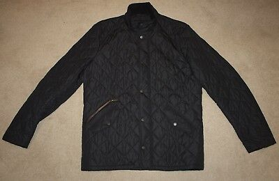 Barbour CHELSEA SPORTSQUILT Jacket in Black - Small  [2667]