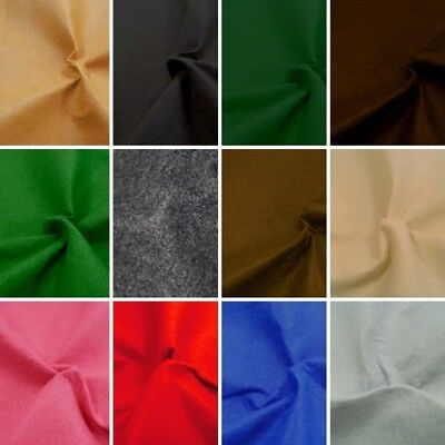 100cm Felt Fabric Material Wide 1mm Thick 100% Polyester Craft