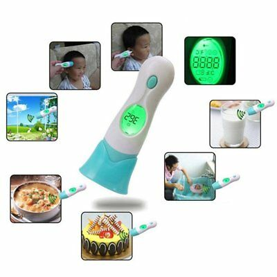 AGM Fieberthermometer Infrarot 4 in 1 Ohrthermometer Kinder Stirnthermometer LCD
