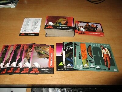 Dawn Of The Dead Trading Cards Set 96 cards and stickers Fright-Rags horror