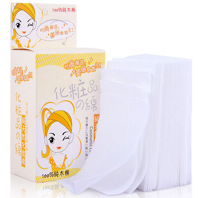 Disposable Facial Cleansing Cotton Tissue Pad Makeup Remover 100 Sheets Top ST