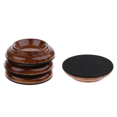 Home 4pcs Plastic Piano Coasters Upright Caster Cups Legs Pad For Piano Furniture Whshopping