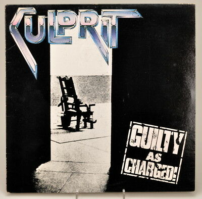 Culprit - Guilty as Charged  LP 1983 Shrapnel 1008 - TOP Zustand
