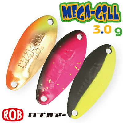 ROB LURE MEGA GILGAMESH 3.0 g Trout Spoon Assorted Colors