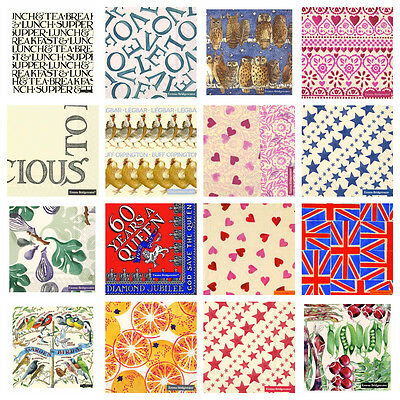 Emma Bridgewater 3 Ply Paper Cocktail Napkins / Serviettes - Huge Range In Stock