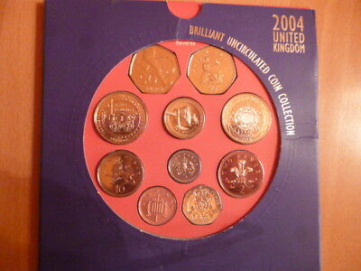 Englische Pfund - 33,68 Pfund mit Uncirculated Coin Collection - Urlaubrest
