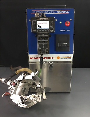 Magnatech PipeMaster 515 Power Supply W/Quick Clamp 433 Head Orbital Welding