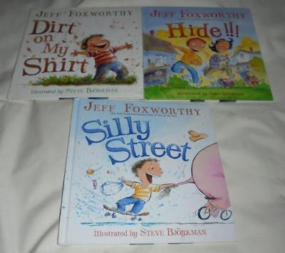 Set of 3 Jeff Foxworthy hardcover books for children