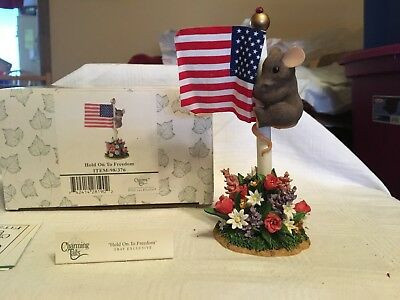 """Charming Tails """"HOLD ONTO FREEDOM""""  DEAN GRIFF NIB"""