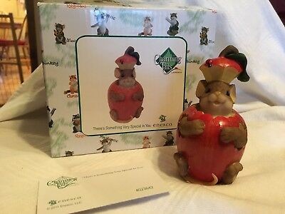 """Charming Tails """"THERE'S SOMETHING VERY SPECIAL IN YOU""""  SIGNED DEAN GRIFF NIB"""