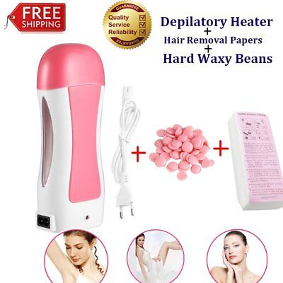 Automatic Depilatory Heater Roller Warmer Cartridge Strips Hair Removal Kit GP