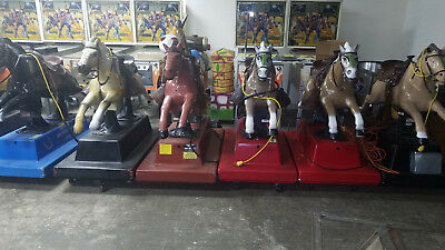 Horse Coin Op Kiddie Ride w/ Sound and Coin