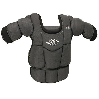 Diamond IX3 Baseball Umpire Chest Protector - Black (NEW) Lists @ $100