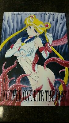 """Sailor Moon Hentai Doujinshi """"Another One Bites the Dust"""" by Black Dog"""