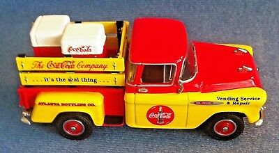 Coca Cola 1957 Chevrolet Pick-Up Truck 1:43 Matchbox Models Of Yesteryear