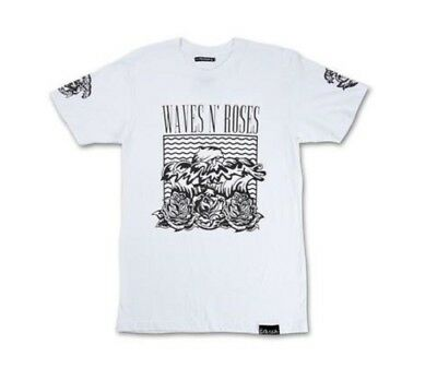 Pink Dolphin S//S NU WAVE T-SHIRT WHITE QS11811NWWH