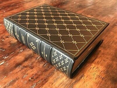 MacKInlay Kantor • ANDERSONVILLE • 1956 Pulitzer • Leather Franklin Library HC