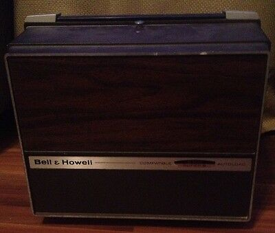 Vintage Bell & Howell 8mm Super 8 Autoload Model 456A Silent Movie Projector