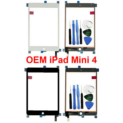 OEM Digitizer Glass Touch Screen for iPad Mini 4 A1538 A1550 Replacement + Tools