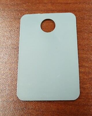 50 PACK - White Plastic Tags - 4 75