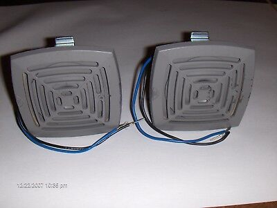 Buzzer Industrial Loud (Gray Color) Qty two (2) 120vac 2 wire connection