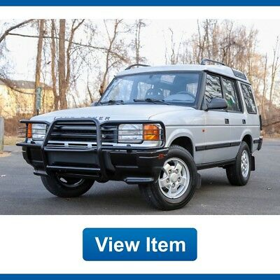 1996 Land Rover Discovery 4WD Video 78K Serviced California CARFAX 1996 Land Rover Discovery 4WD Video 78K Serviced California CARFAX