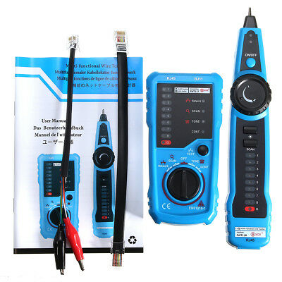 RJ11 Cable Tracker Tester Wire Network Telephone Phone Line Tracer Toner LAN AU