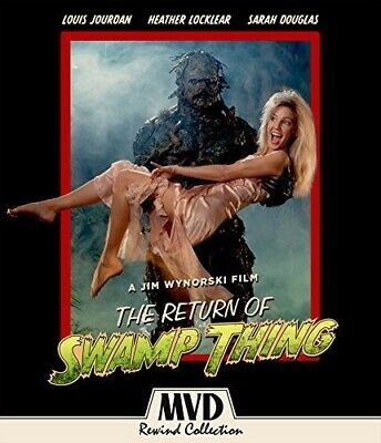 The Return of Swamp Thing [New Blu-ray] With DVD