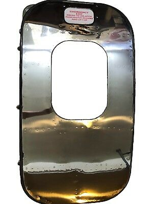 Aloha Airlines Boeing 737 Polished Aircraft Airplane Emergency Exit Door