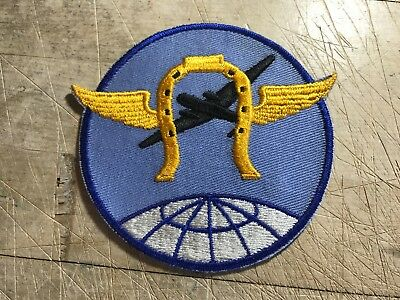 WWII/WW2-US ARMY AIR FORCE PATCH-3rd Combat Cargo Squadron-ORIGINAL USAAF/USAF