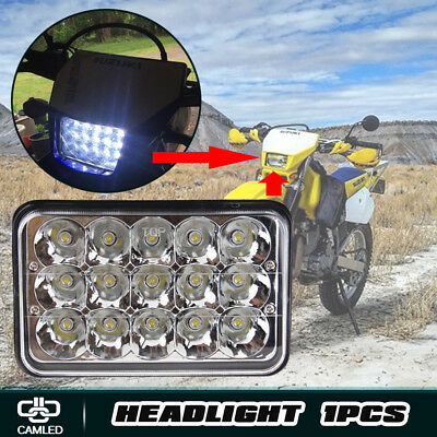 "4""x6"" inch LED Projector Headlight FIT 2005-16 Suzuki DRZ400SM DRZ400S DRZ250"