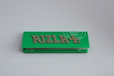 Rizla Green Cigarette Smoking Rolling Papers Made in Belgium 100% Genuine Mediua