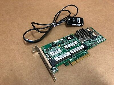 HP Smart Array P420 Raid Controller 1GB FBWC w. Battery 633538-001 Low Profile