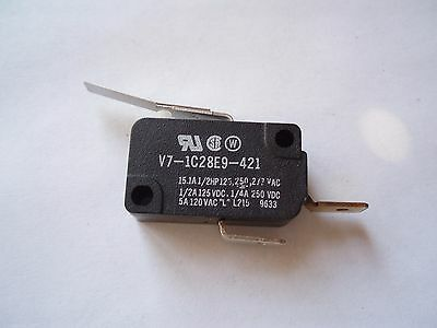 Honeywell Micro Switch V7-1C28E9-421 Lever Basic Snap Action Spdt 15A 250Vac