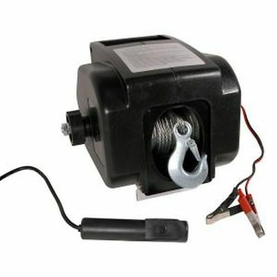 12 Volt Longhorne Winch 2000lb with 15m cable