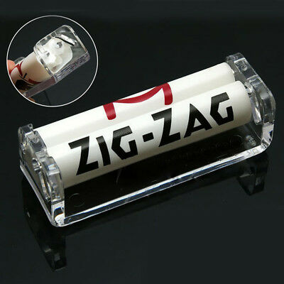 70mm Easy Handroll Cigarette Tobacco Rolling Machine Roller Maker Tool Acrylic