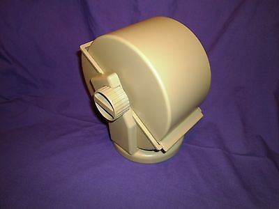 Vintage Rolodex Style Bates Swivel File Revolving Cover Dividers and Cards